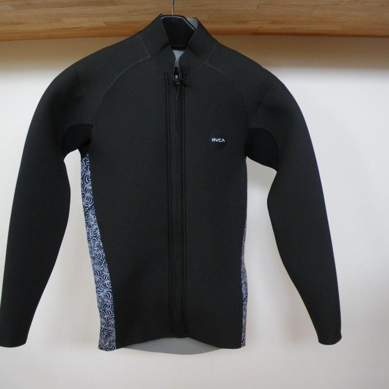 『RVCA』 Front Zip Jacket