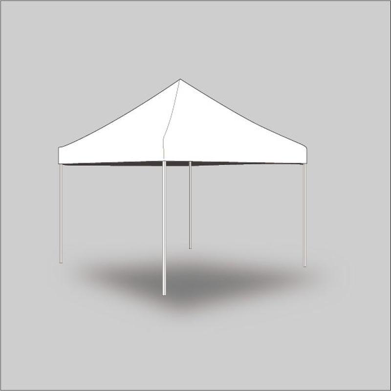 3m×3m 業務用テント(天幕のみ)白