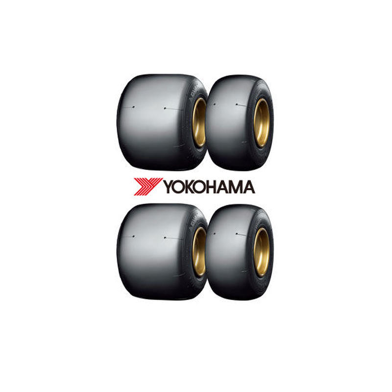 ヨコハマ  レーシングカートタイヤ SL-07 1セット