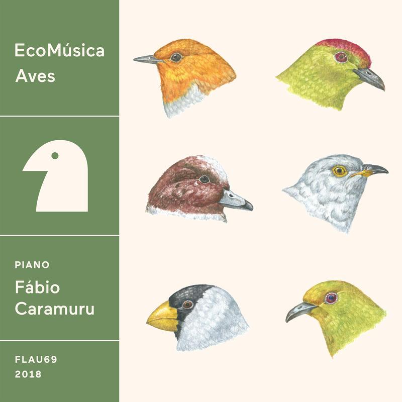 Fábio Caramuru - EcoMúsica | Aves (CD)