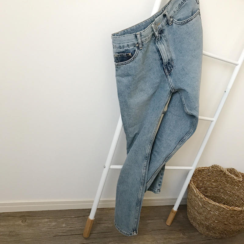 basic straight denim
