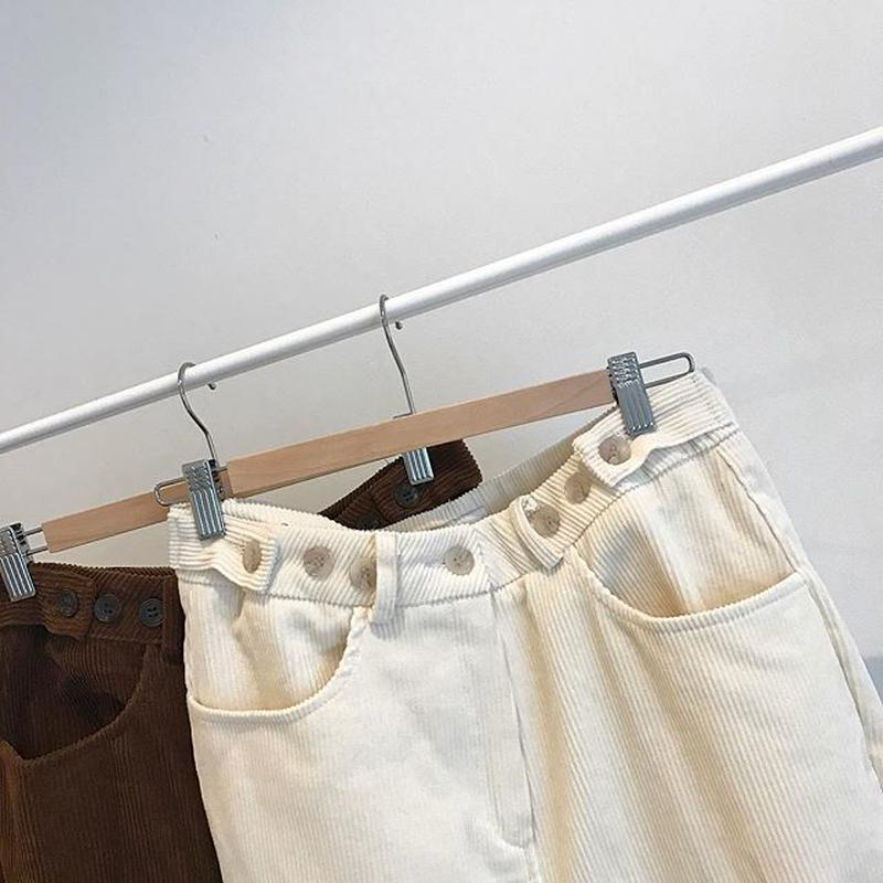 corduroy design pants (2color)