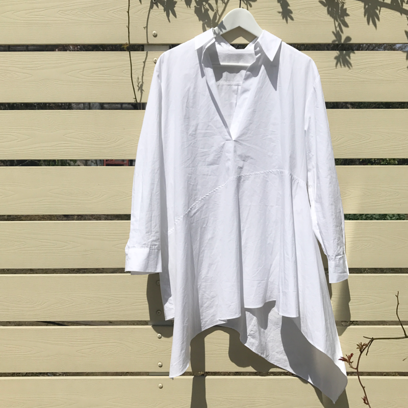 asymmetry shirt