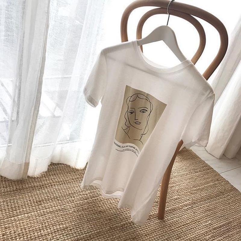 art print t-shirt
