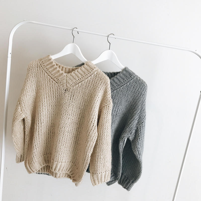 Low gauge knit (2color)