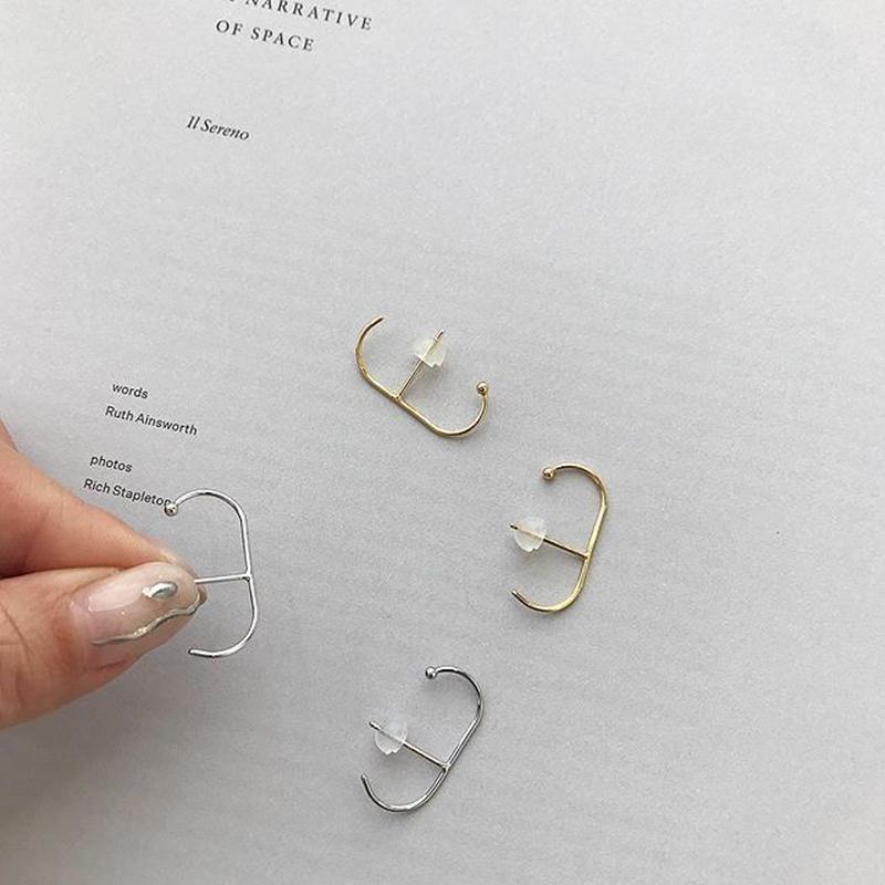 simple ear cuff pierce (2color)