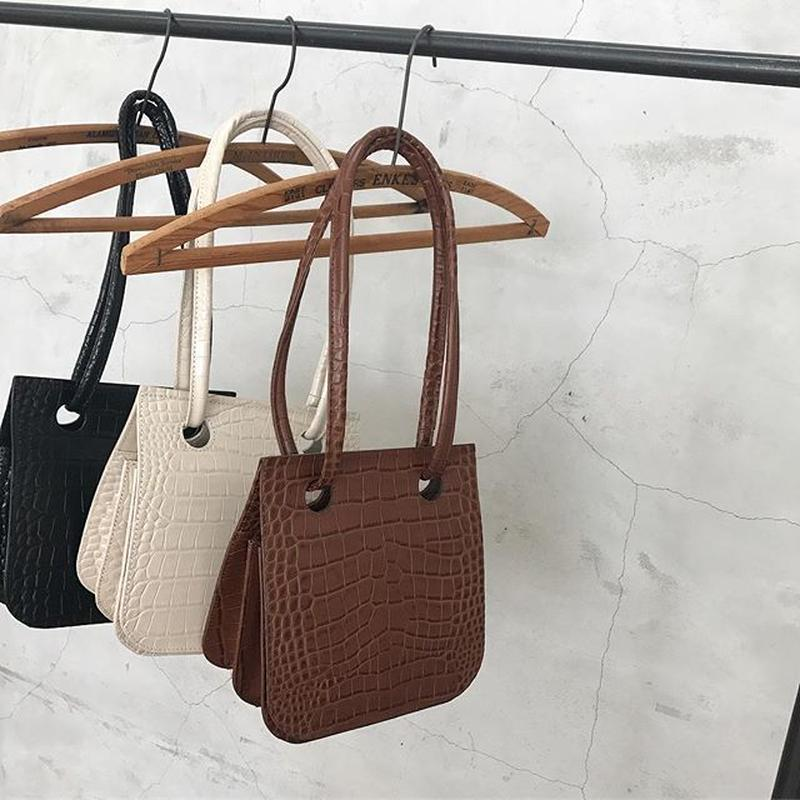 realleather 2way  bag (3color)