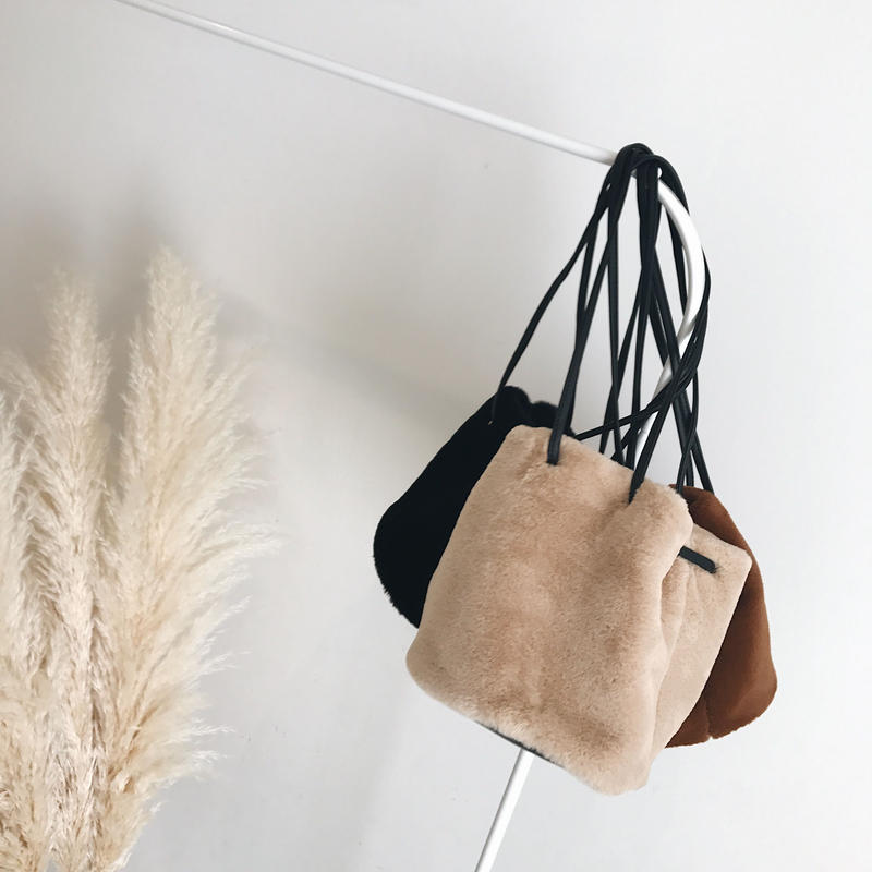 fur bag (3color)