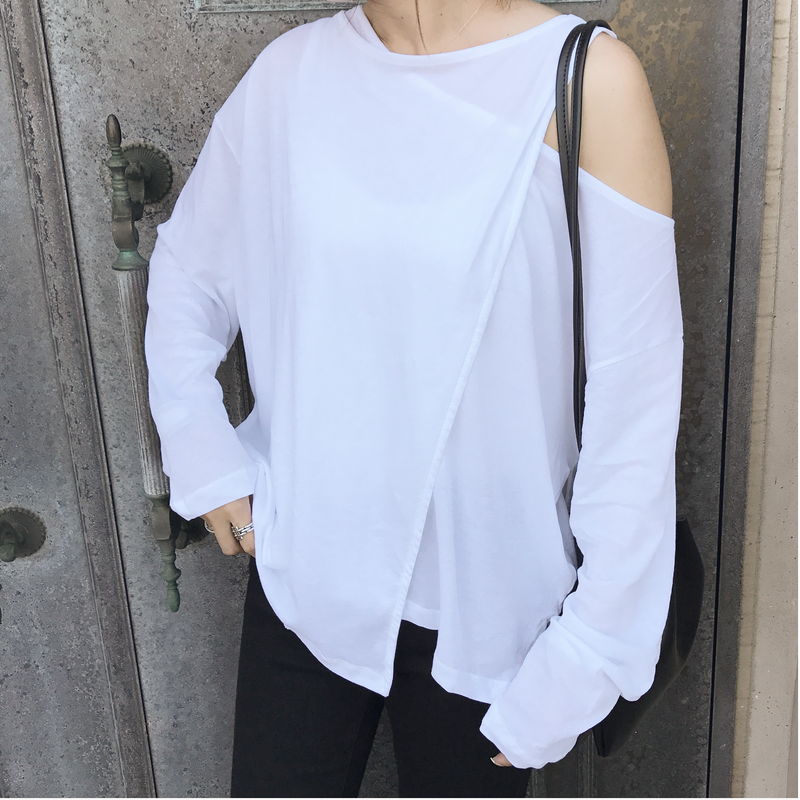 asymmetry tops (2color)