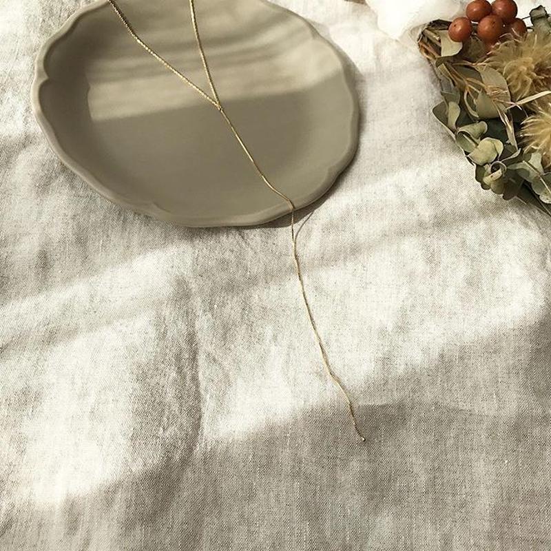 [silver925]Y necklace