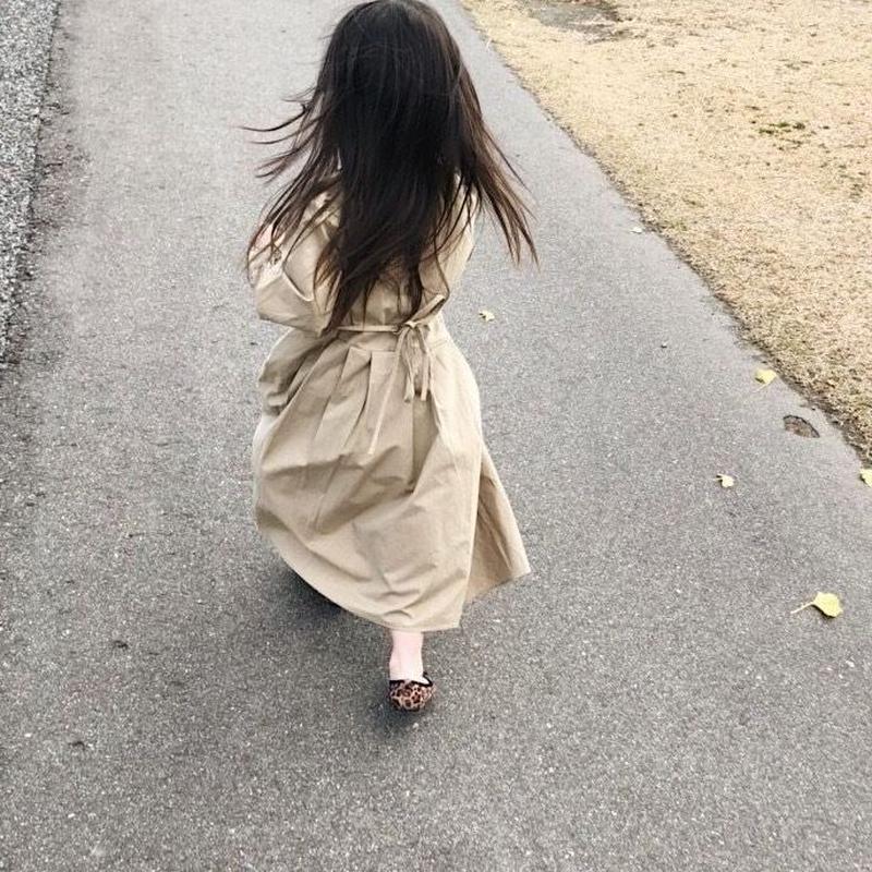 cotton  flare onepiece【kids】