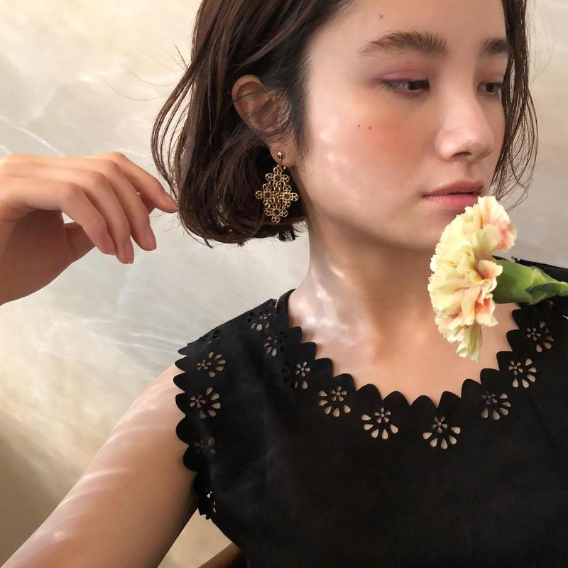 Flower Link Earring