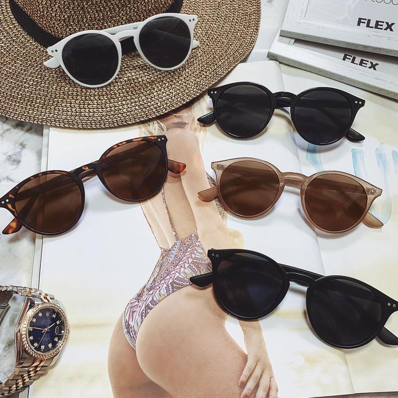 【5color】classic round sunglasses