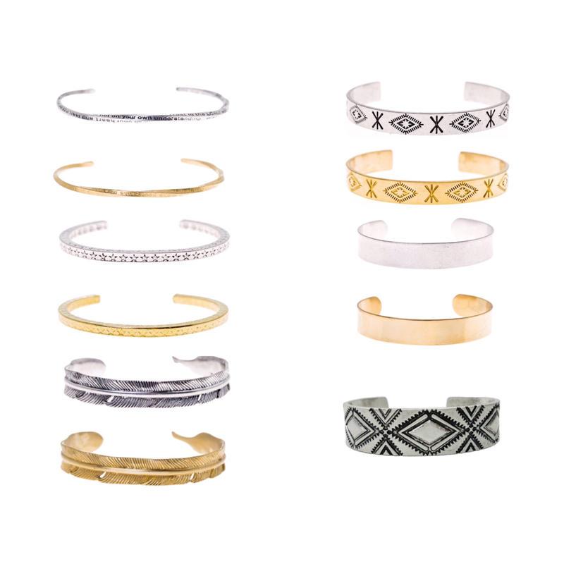 【11 type】brass bangle