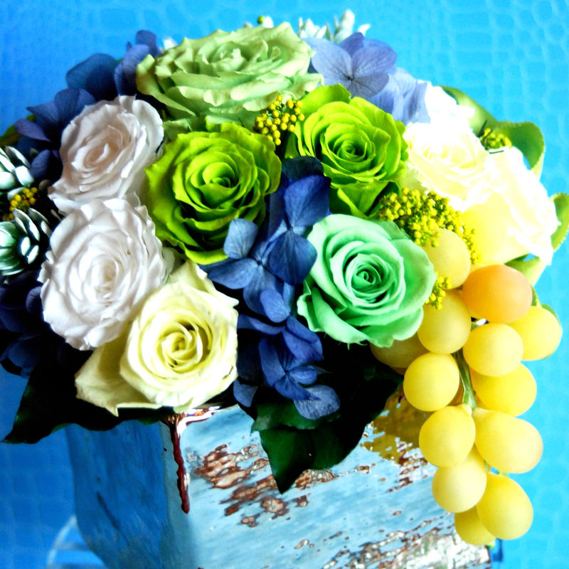 Summer Grape Arrangement