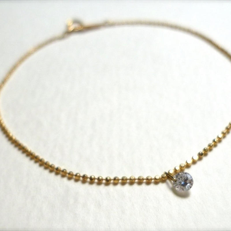 K18 diamond bracelet  #nude