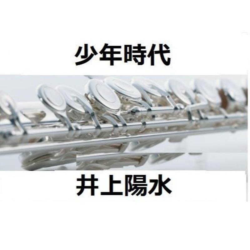 【フルート楽譜】少年時代(井上陽水)(フルートピアノ伴奏)