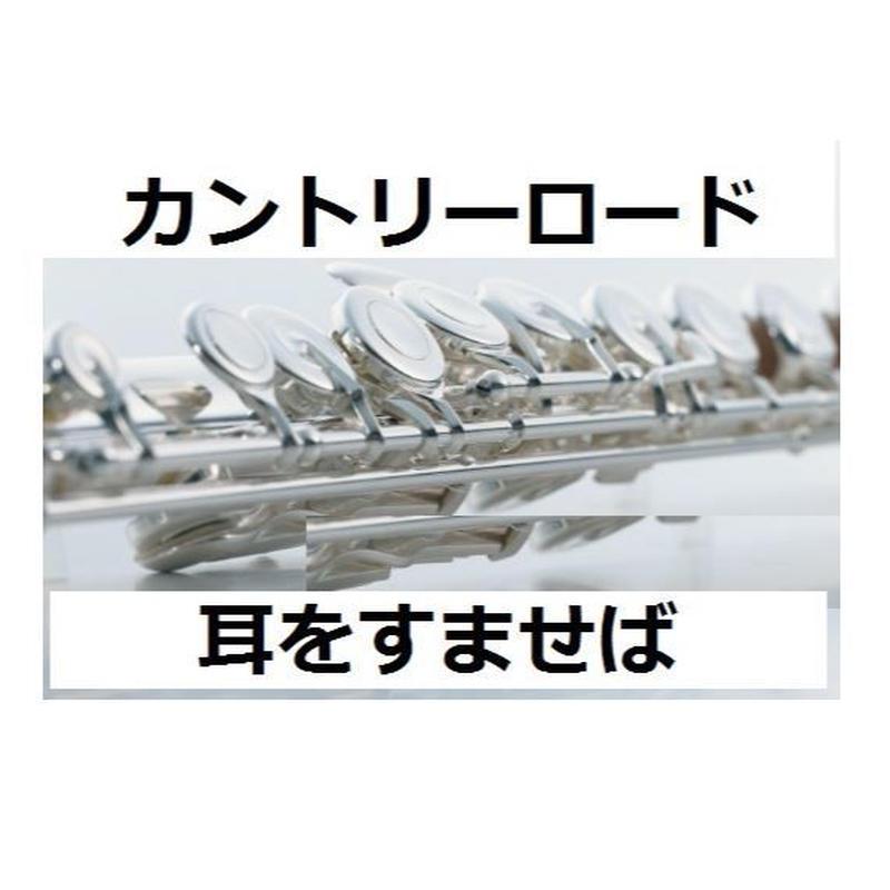 【フルート楽譜】カントリーロード~耳をすませば(フルートピアノ伴奏)
