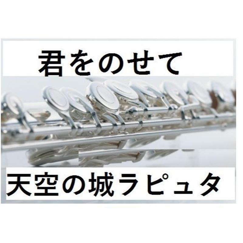 【フルート楽譜】君をのせて(天空の城ラピュタ)~久石譲 (フルートピアノ伴奏)