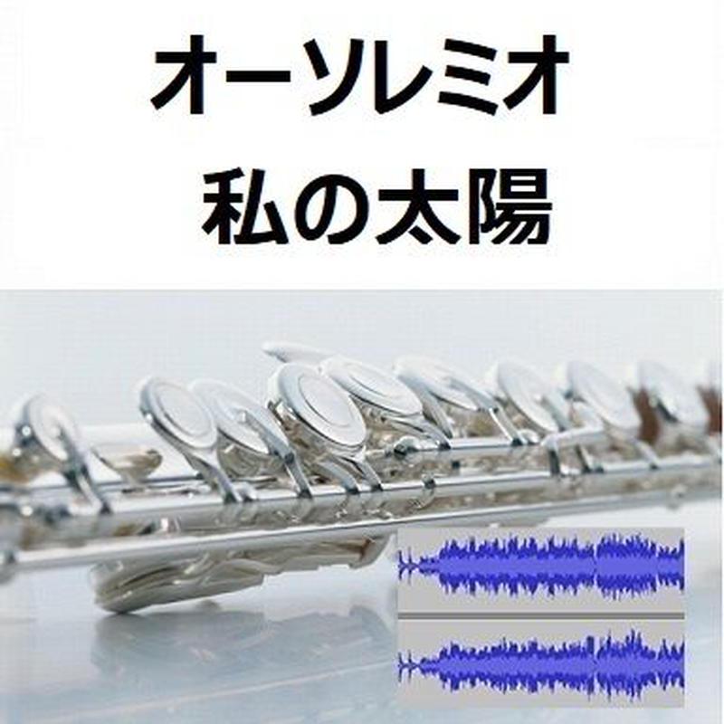 【伴奏音源・参考音源】オーソレミオ(私の太陽)O SOLE MIO(フルートピアノ伴奏)