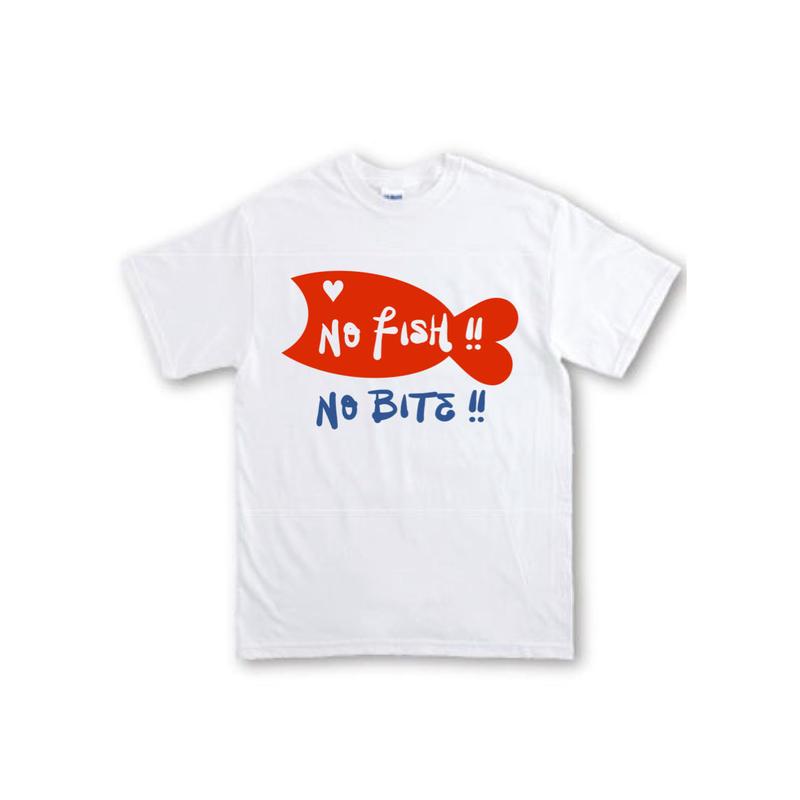 7.1oz !! ノーフィッシュ・ノーバイト Tシャツ WHITE 在庫限り