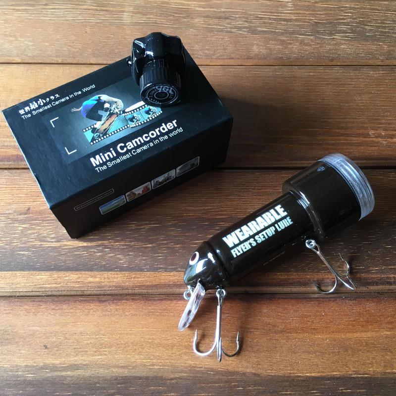 WEARABLE  LURE 推奨カメラ セット在庫限り!!