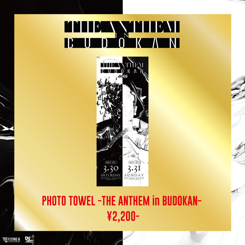 PHOTO TOWEL -THE ANTHEM in BUDOKAN-