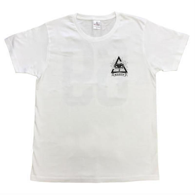 T-SHIRTS -WHITE-69MASON