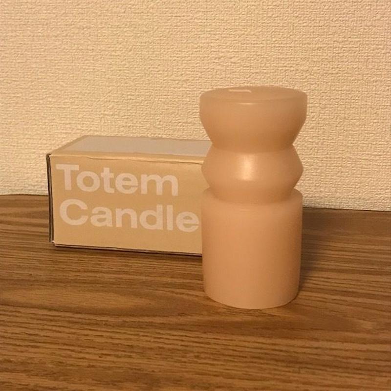 トーテムキャンドル  サンド Sサイズ  Totem Candles