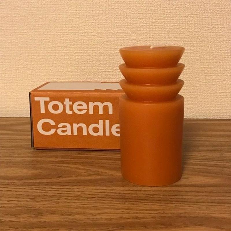 トーテムキャンドル  テラコッタ Sサイズ  Totem Candles