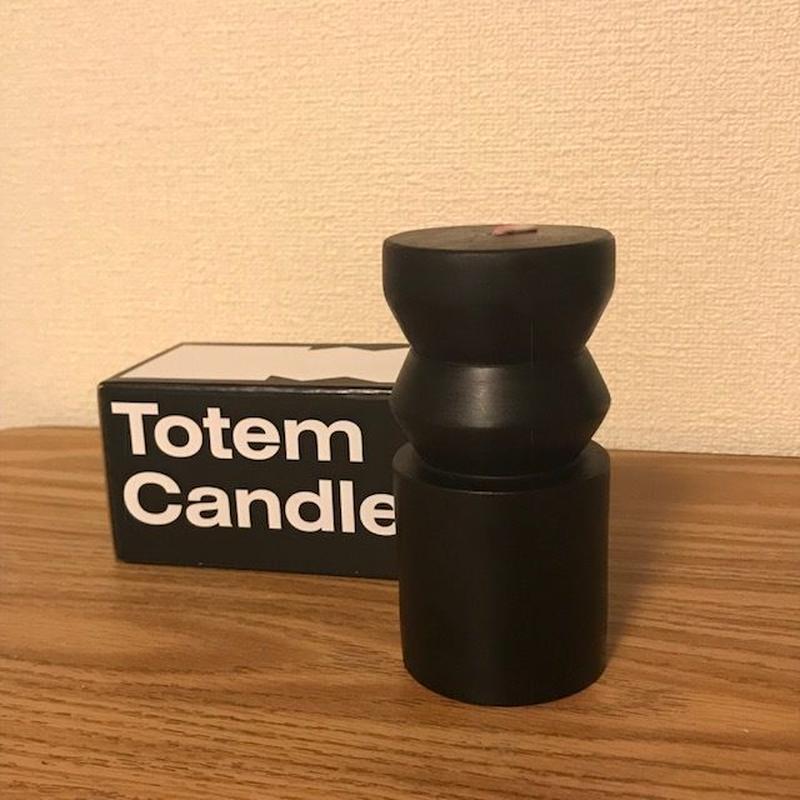 トーテムキャンドル  ブラック Sサイズ  Totem Candles