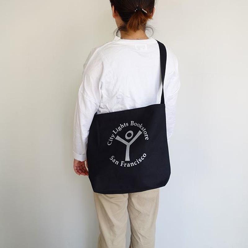 City Lights Book Store Logo Shoulder Bag