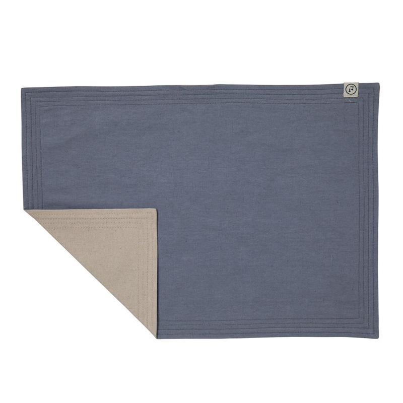 FT02030305 / PLACE MAT -  blueberry  &  persimmon  -