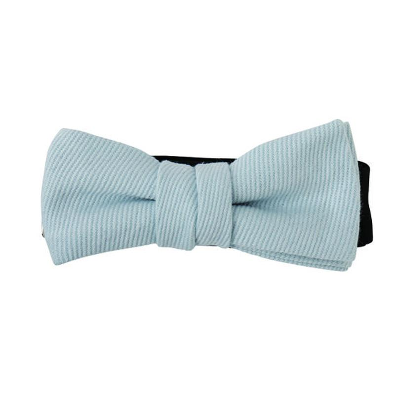 FT04070408 / TWILL KIDS  BOW-blue mallow-