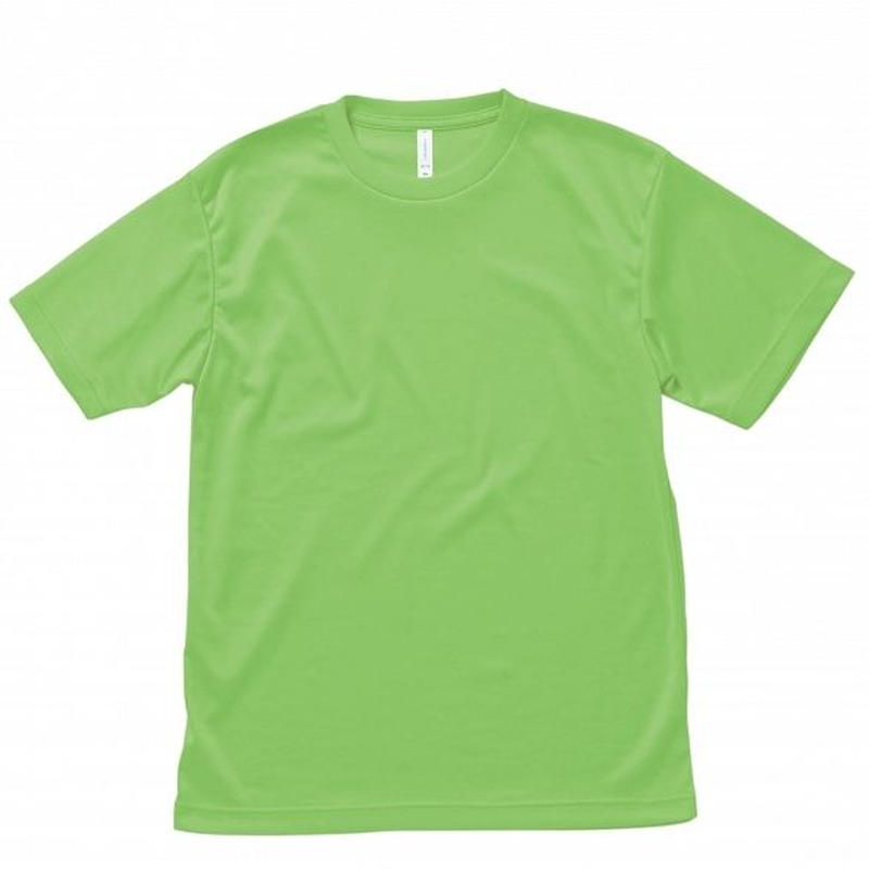 【Natural Smile】LIGHT DRY T-SHIRT(Liht Green)/ ライトドライ Tシャツ(ライトグリーン)