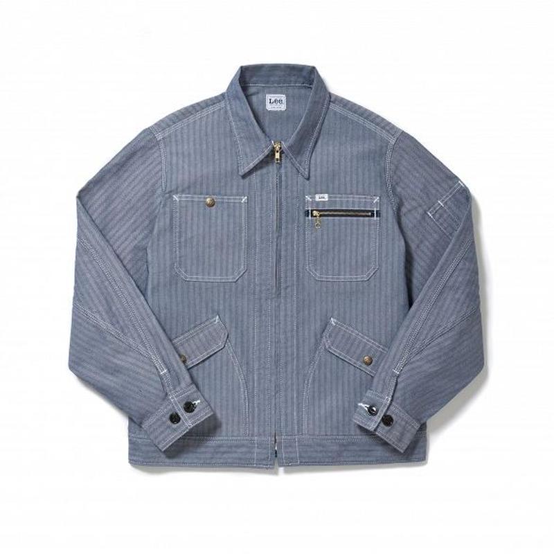 【Lee】MENS ZIP-UP JACKET(Blue)/メンズ ジップアップ ジャケット(ブルー)