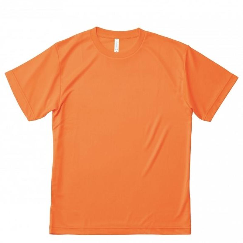 【Natural Smile】LIGHT DRY T-SHIRT(Fluorescent Orange)/ライトドライ Tシャツ(蛍光オレンジ)