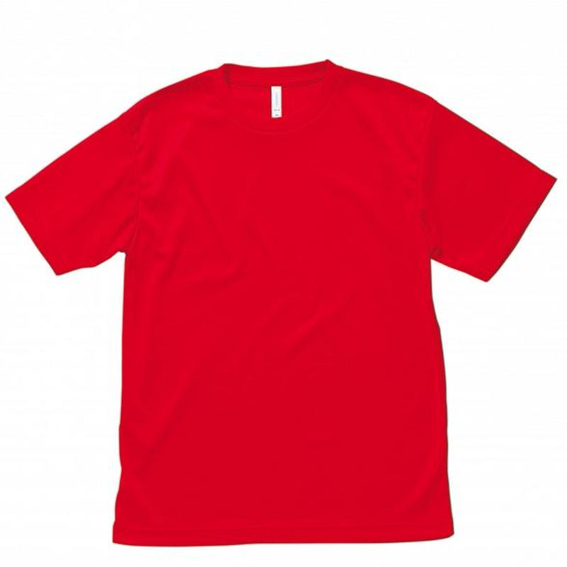 【Natural Smile】LIGHTDRY T-SHIRT(Red)/ライトドライTシャツ(レッド)