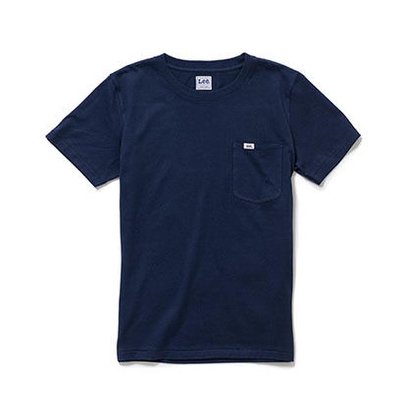 【Lee】T- SHIRTS(Navy)/Tシャツ 半袖 (ネイビー)