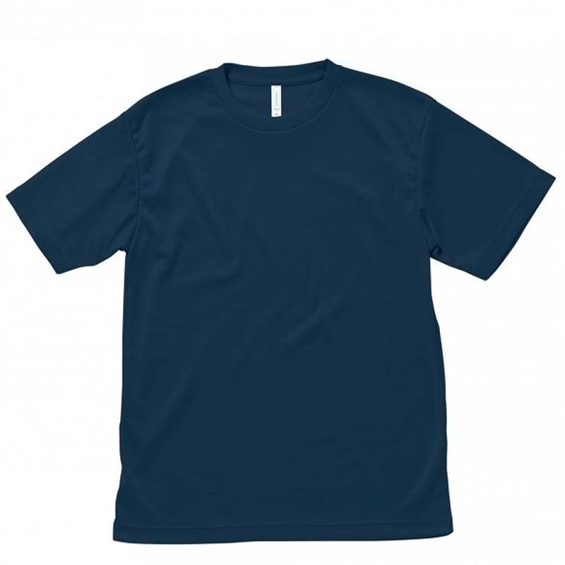 【Natural Smile】LIGHT DRY T-SHIRT(Navy)/ライトドライ Tシャツ(ネイビー)