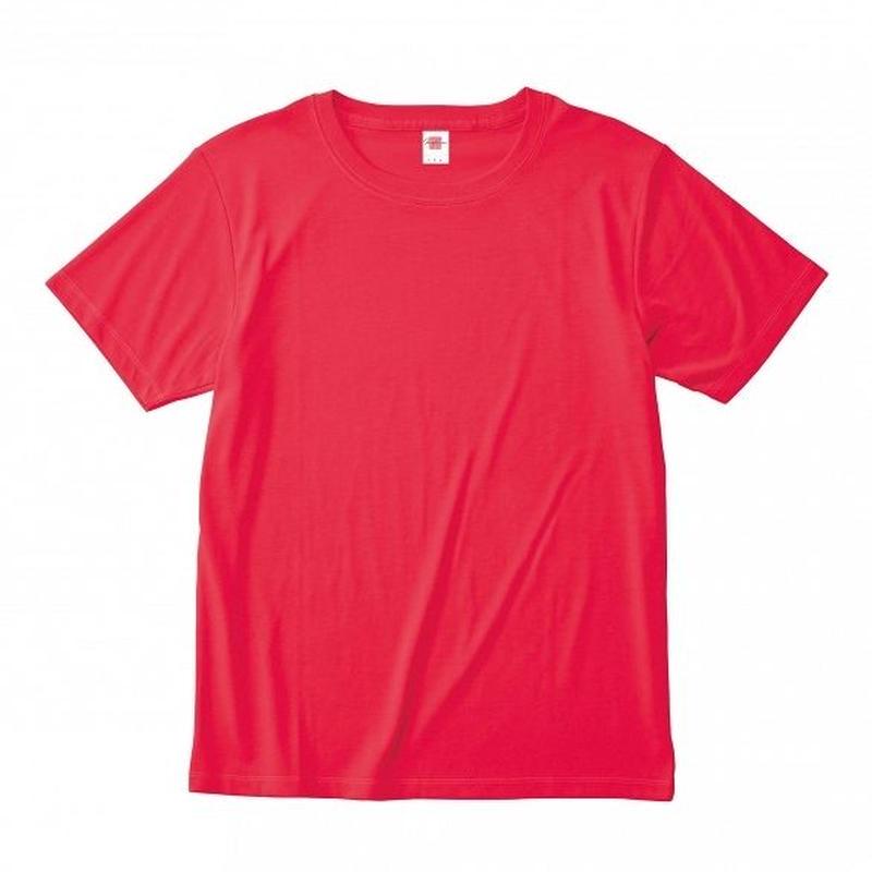 【Natural Smile】HYBRID T-SHIRT(V Red)/ハイブリッド Tシャツ(V レッド)