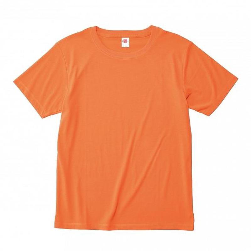 【Natural Smile】HYBRID T-SHIRT(Neon Orange)/ハイブリッドTシャツ(ネオンオレンジ)