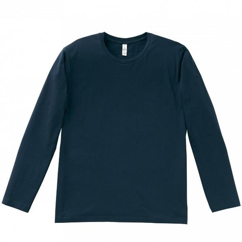 【Natural Smile】LONG T-SHIRT(Navy)/3.8オンスユーロロングTシャツ(ネイビー)