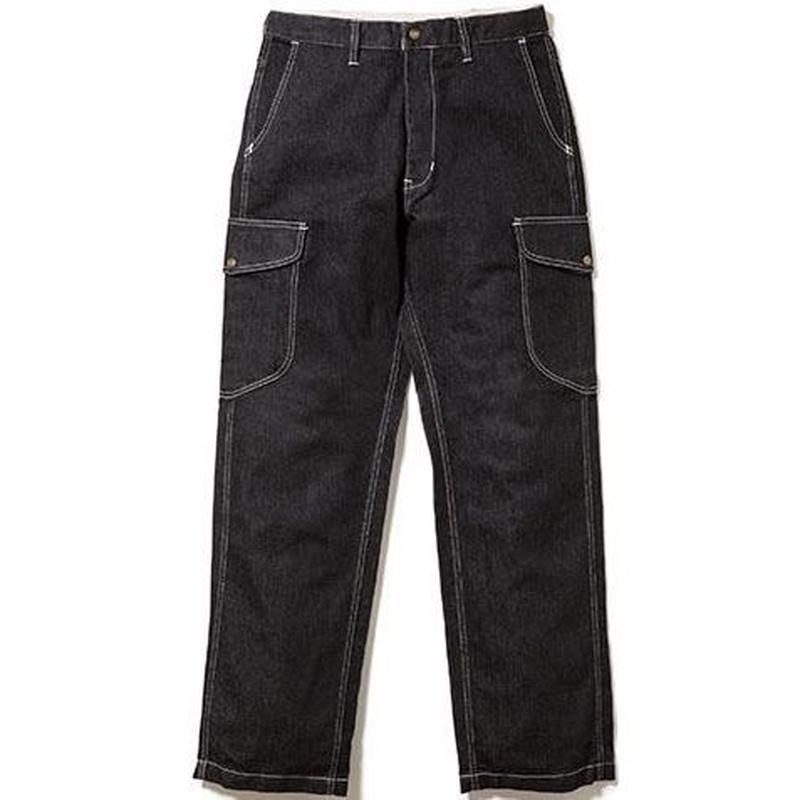 【Lee】MENS CARGO PANTS(Black)/メンズ カーゴパンツ(ブラック)