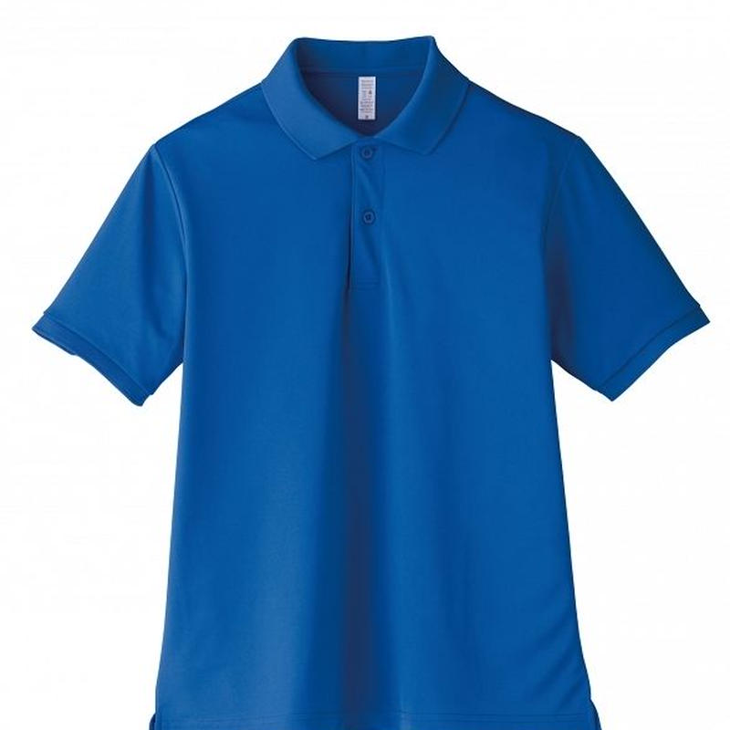 【Natural Smile】UNISEX POLO SHIRT(Royal Blue)/ポロシャツ ユニセックス(ロイヤルブルー)