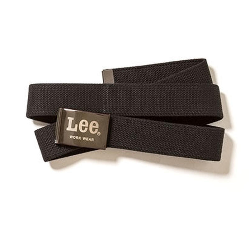 【Lee】BELT (Black)/ベルト コットン(ブラック)