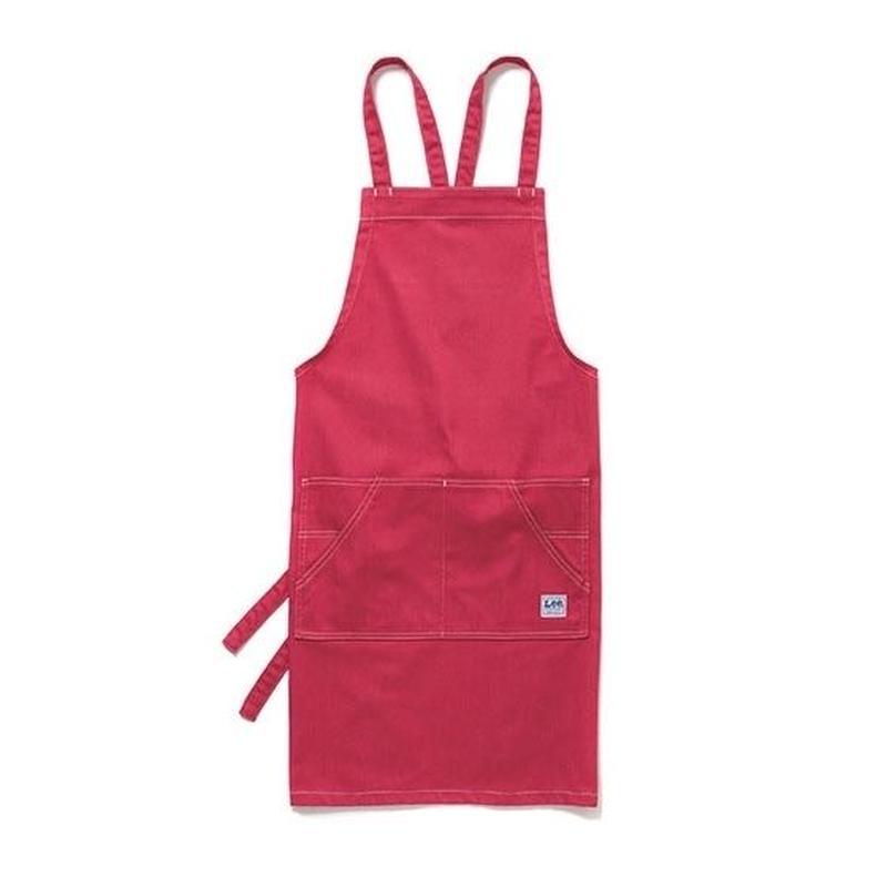 【 Lee】BIB APRON(Red)/胸当て エプロン(レッド)