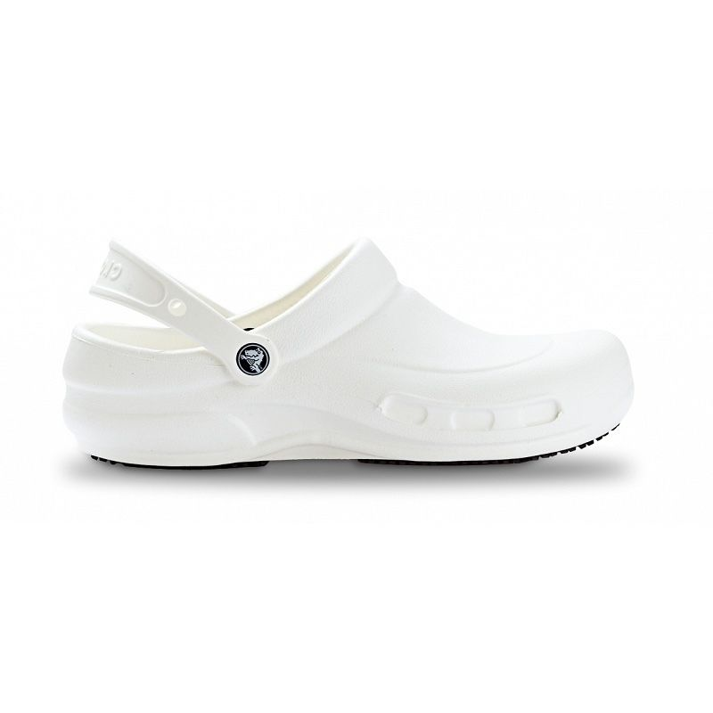 【Natural Smile】CROCS BISTRO(White)/クロック ビストロ(ホワイト)