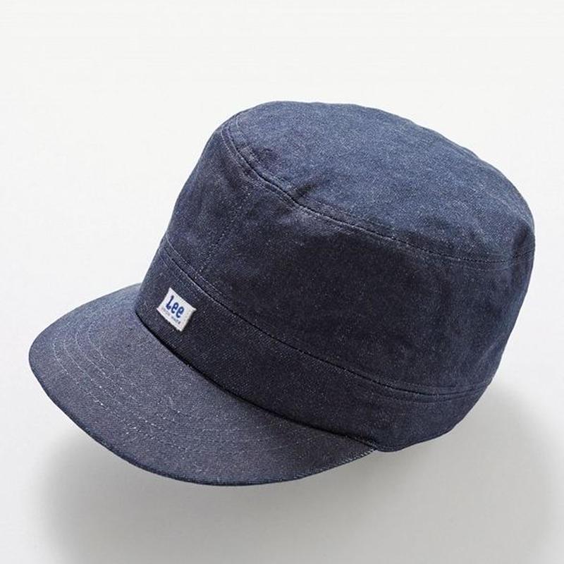 【Lee】WORK CAP(Indigo Navy)/ワークキャップ(インディゴネイビー)