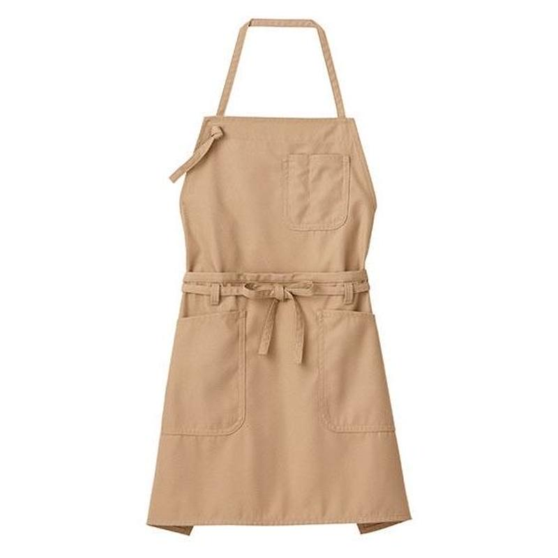 【Natural Smile】2WAY APRON(Mocha)/2ウェイエプロン(モカ)